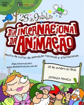 Poster do Dia Internacional da Animação