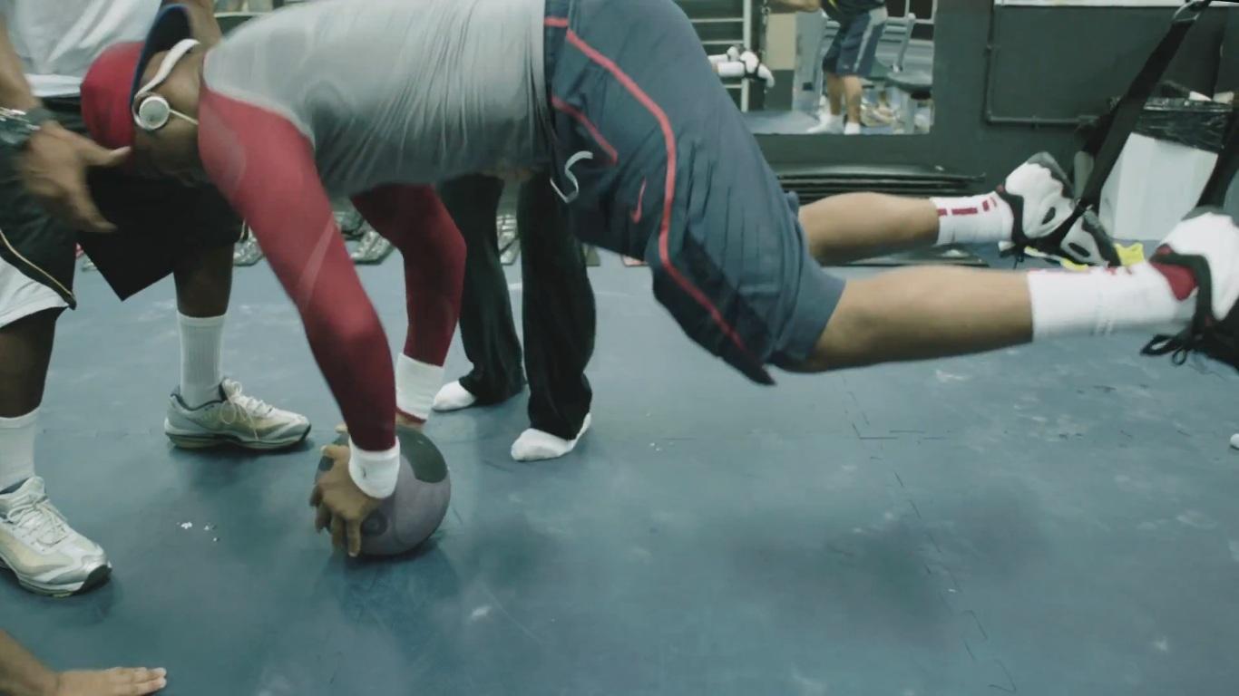 Cena de Nike: Encontre Sua Grandeza