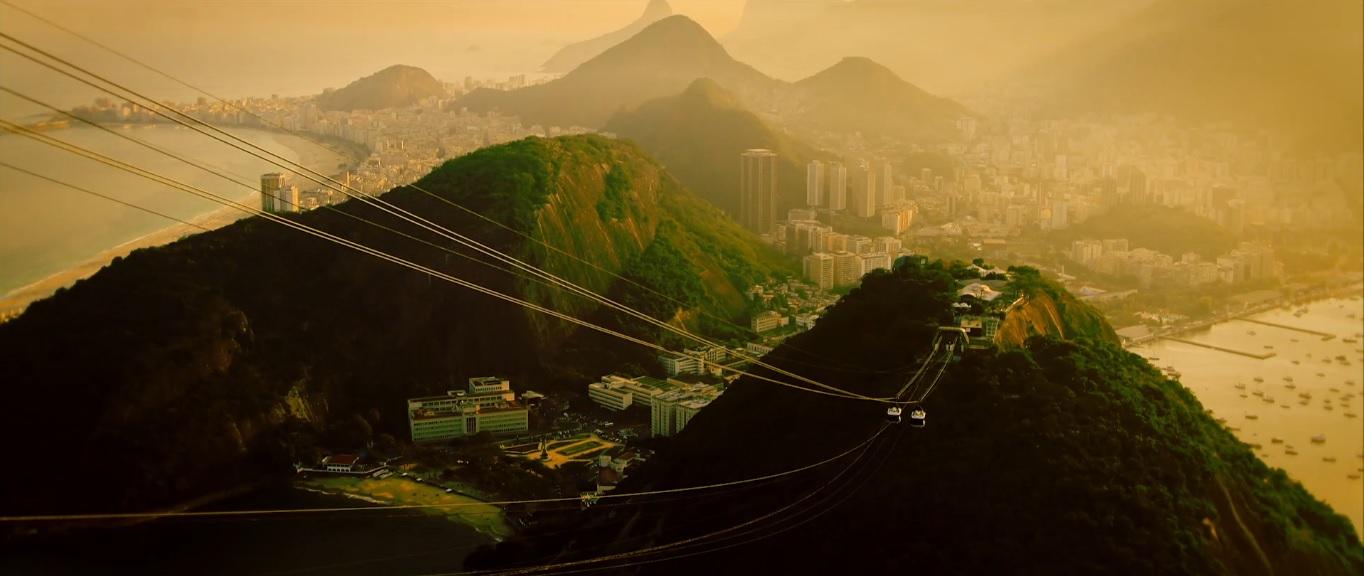 Cena de Time of Rio