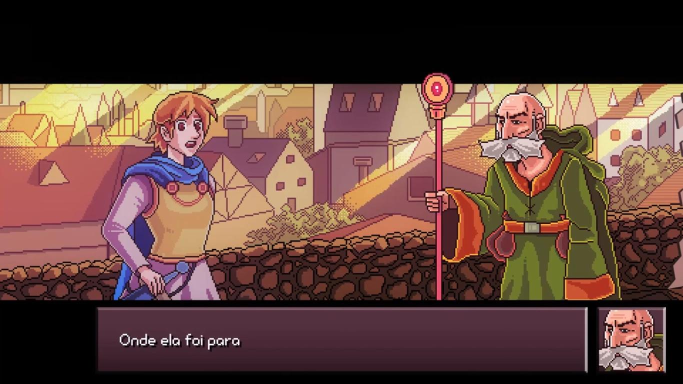 Cena de Dragon Quest Cabloco