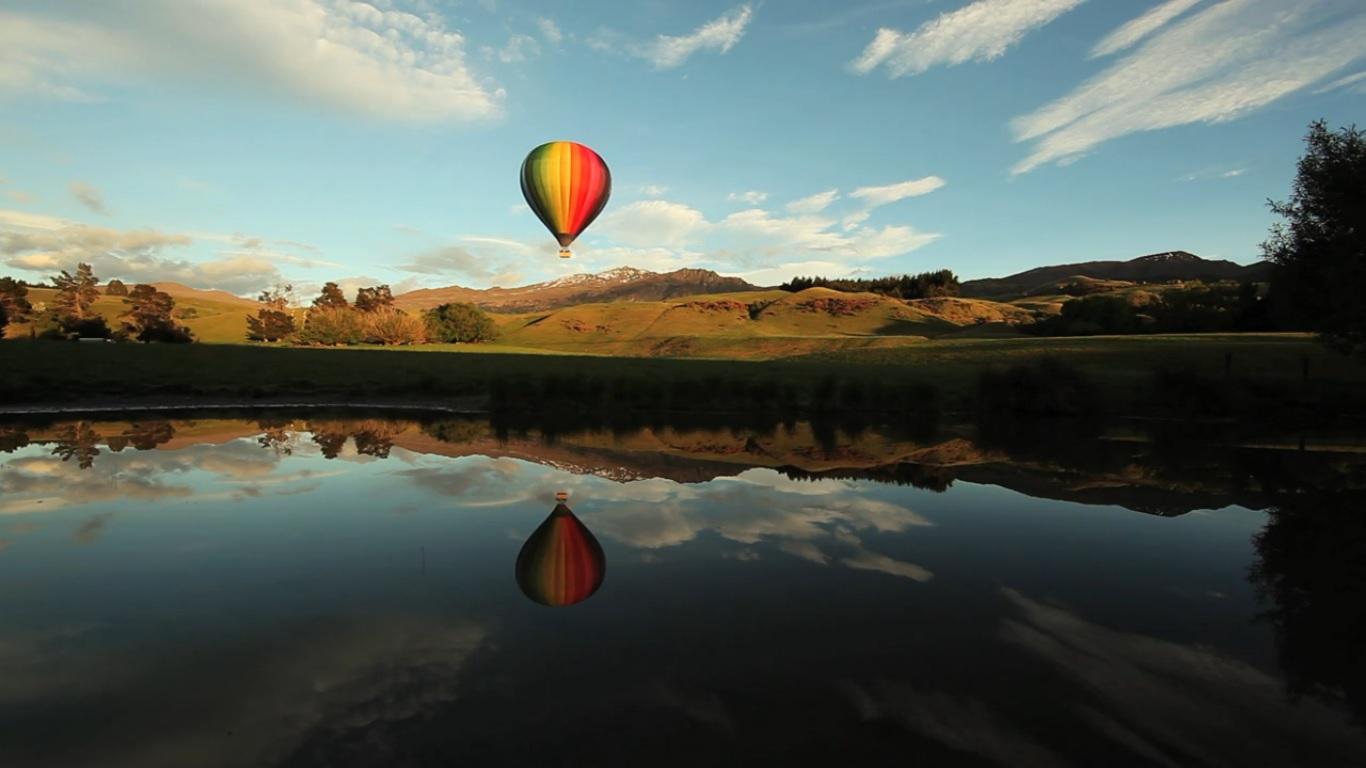 Cena de Water & Rocks, New Zealand