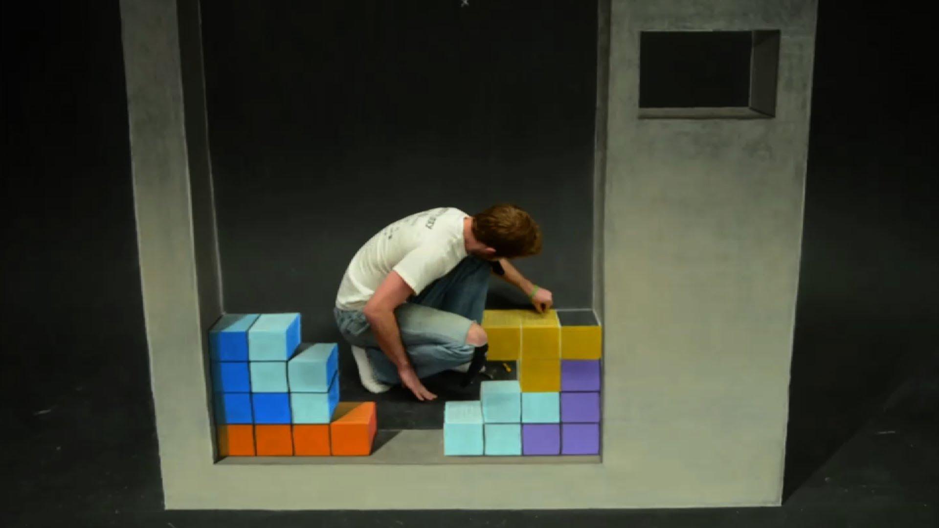Cena de 3D Chalk Arts