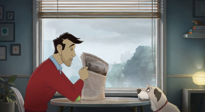 Coca-Cola - Man & Dog